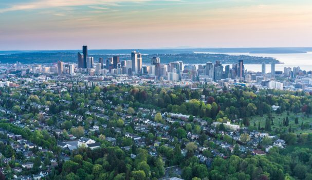 Seattle Aerial Photo