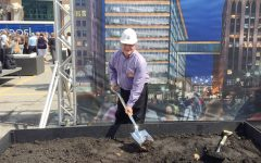 Scott Worth LCI ground-breaking