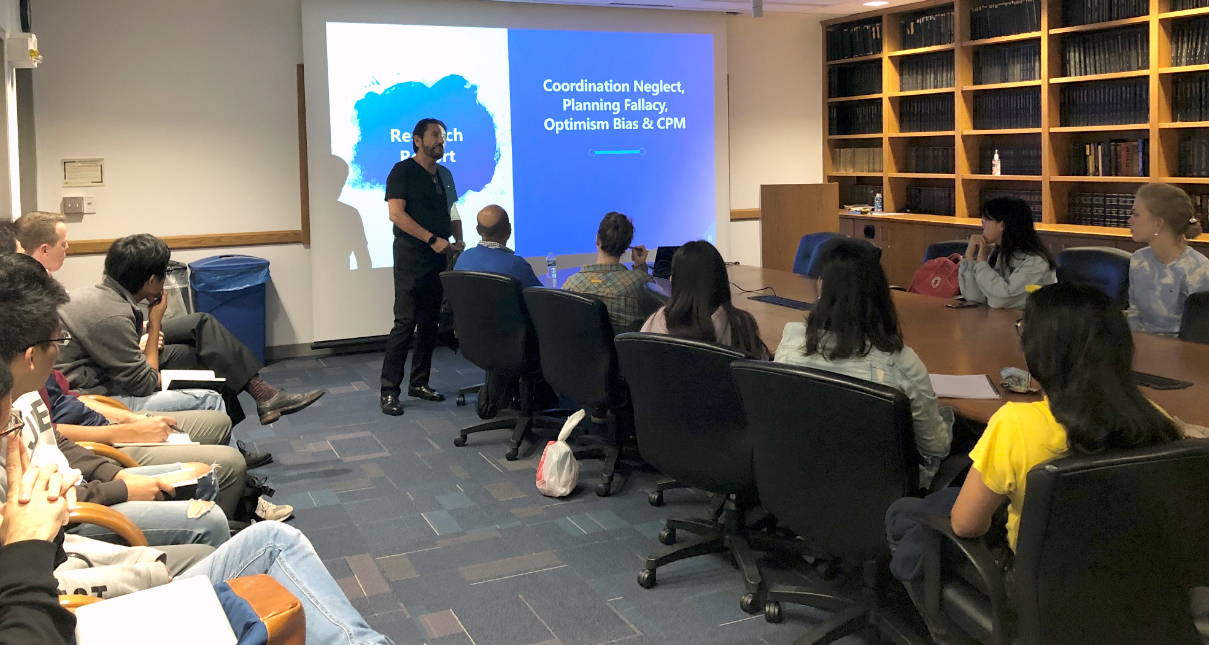 Gui presents GPM at the University of Michigan