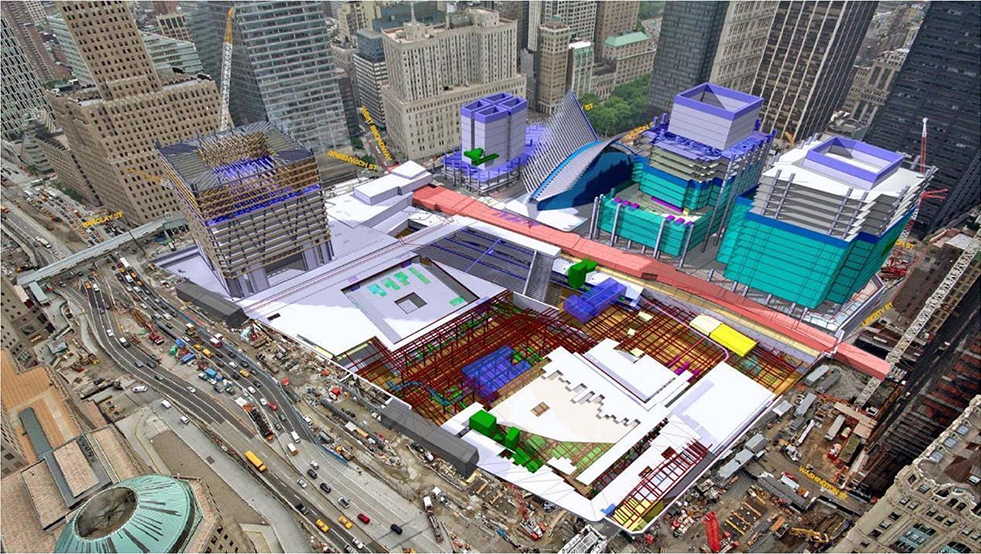 BIM and VDC for the Lower Manhattan Construction Command Center project